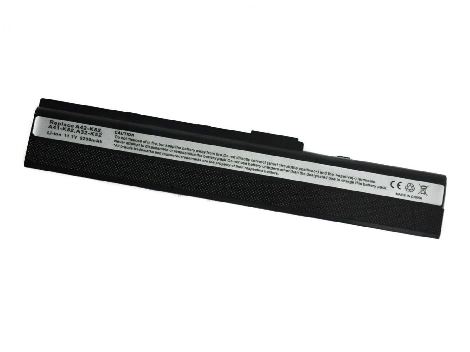 New Li-ion 6 Cell Laptop Battery for Asus A41-K52 A42-K52 A52 K52JR-X5 A52F