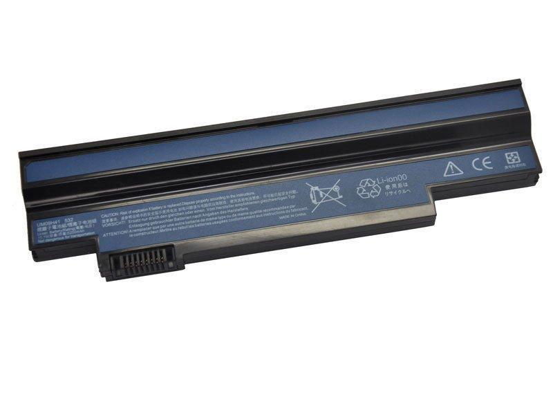 Battery For Acer Aspire one 532h AO532h UM09H41 UM09G31 UM09G51 UM09C31 6 cells