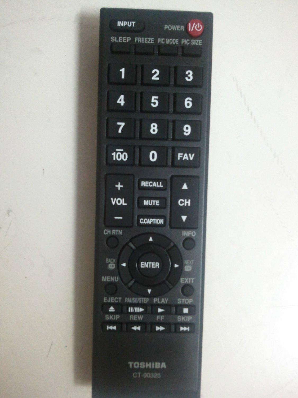 New Toshiba TV Remote CT-90325 CT90325 Remote 55HT1U 55S41U  TV