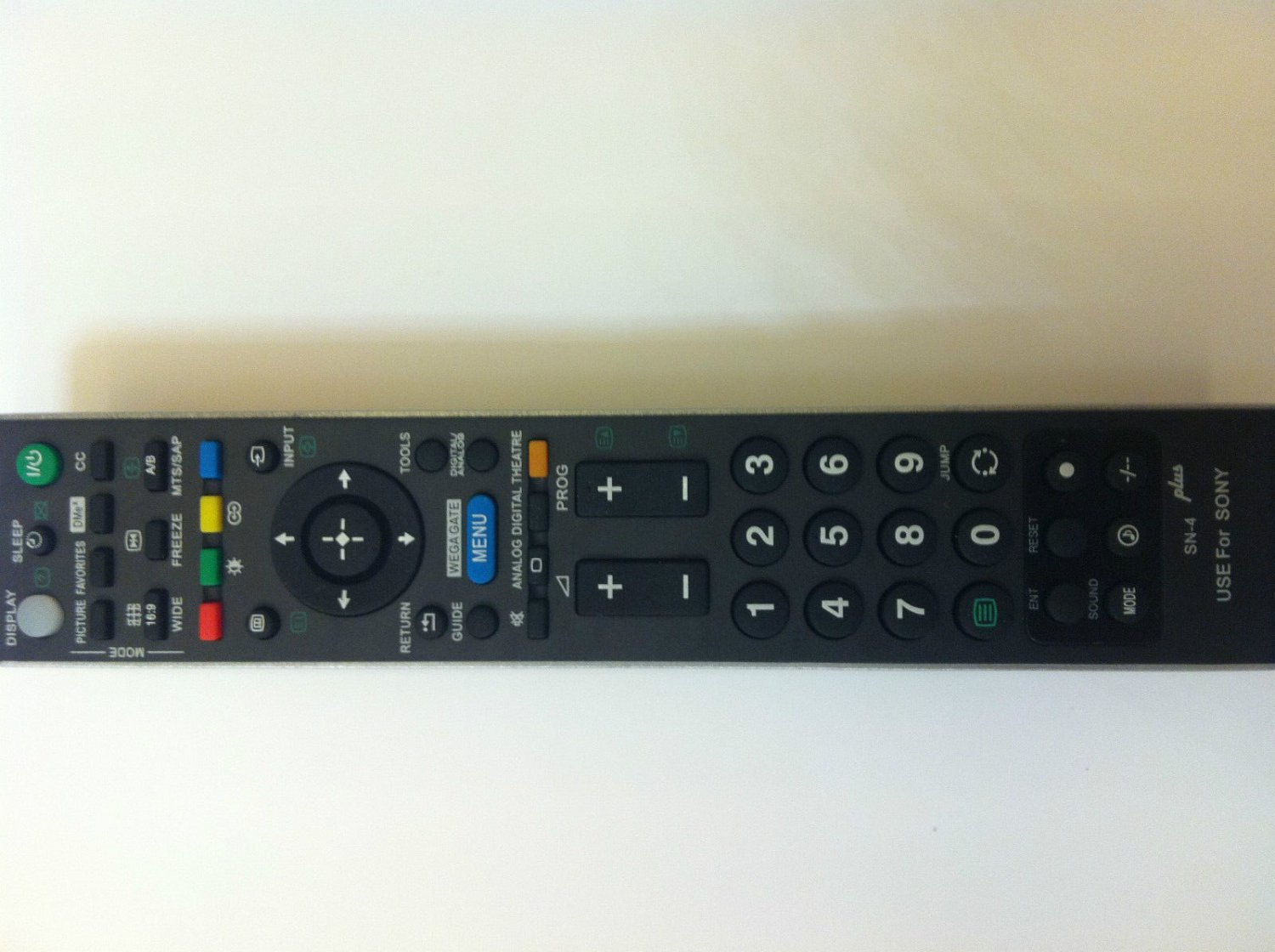 New Universal Remote for all SONY TV