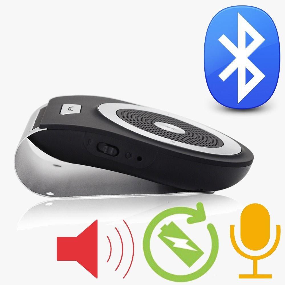 New Wireless Bluetooth handsfree In-Car Kit Loudspeaker for all Phones