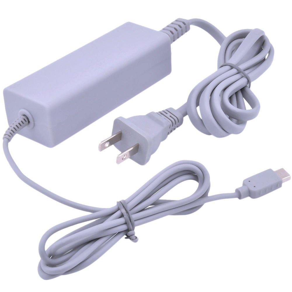 Fast Charging AC Charger Home Power Supply Wall Plug for Nintendo Wii U Game pad
