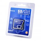New Latest Memory Card Adapter Converter SDSDHC-SDXC To Compact Flash CF Type II