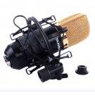 Microphone Shock Mount Clip Holder for MXL Large Diameter Condenser MIC Black