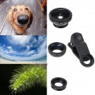 3 In 1 lens clip ( Fisheye len + Wide angle len + Macro len)for iPhone 6 5S 5 4S