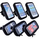 Bike Bicycle Waterproof Phone Zipper Case Bag Pouch Handlebar Mount Holder