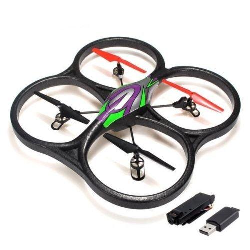 WLToys V262 V2 Cyclone Large Quadcopter UFO 2.4G RTF with Camera