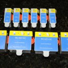 6 Black-4 Color 10 Ink Cartridge for Kodak Printer ESP 7250 office 6150 Hero 6.1