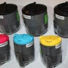 3 Black 3 Color Toner Cartridge for Samsung Printer CLP-300 300N CLX-2160 3160FN
