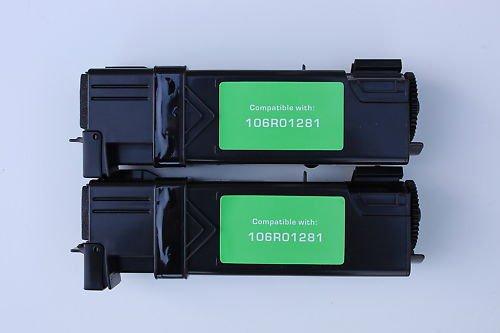 Lots of 2 for Xerox Printer 6130 6130n Black Toner Cartridge