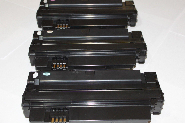 3 Black Toner 2MMJP 330-9523(7H53W) for Dell 1130 1130n 1133 1135n Laser Printer