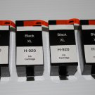 New 4 Black Ink Cartridge 920XL CD975AN for HP Officejet 6000 6500A 7000 7500A