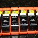 New 6x Black ink Cartridge for Dell Series 21-24 P513w v313w V515w P713w V715w