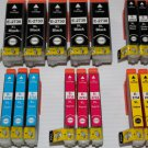 New Lots of 17 Ink Cartridge Black&Color for Expression Premium XP-600 610 800