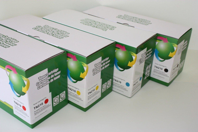 4 Toner TN210 Black&Color for Brother MFC-9120 9125 9320 HL-3040 3045 3070 3075