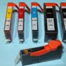 New 564XL 5 x Ink Cartridge for HP C6300 C6350 C6380 C5390 B8550 C309 C310 C410