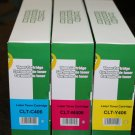 3 x Color Toner CLT-406 for Samsung Printer CLP-365W CLX-3305W CLX-3305FW C410W