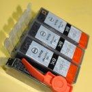 6 x Black PGI-225 Ink Cartridge Canon Pixma MG-5320 6220 8220 MX882 IP4820