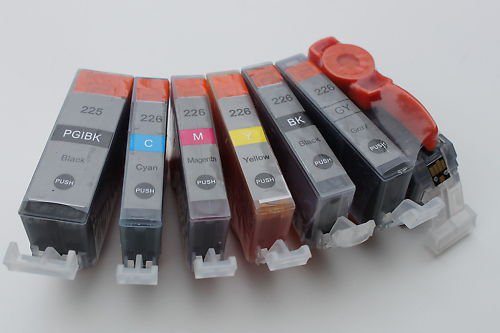 New 6 x Ink Cartridge for Canon Pixma MG6120 PGI-225 CLI-226