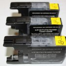 3x Black Ink Cartridge LC75 LC71 for Brother MFC-J280W J425W J430W J435W J5910DW