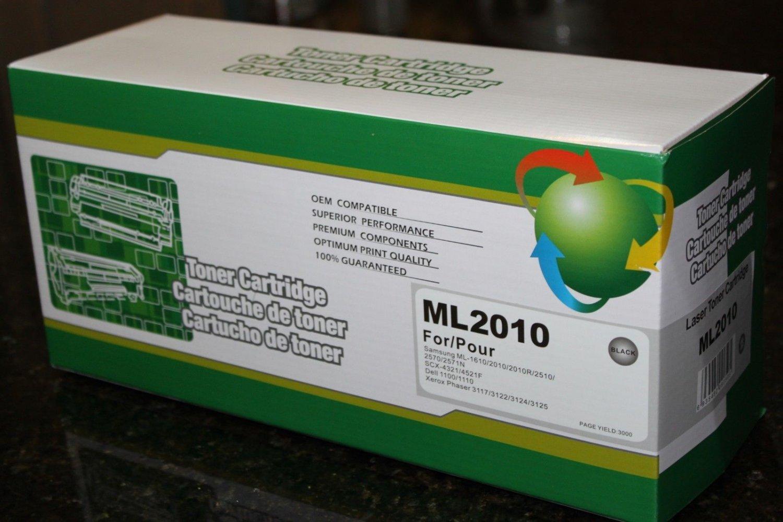 1 Toner Cartridge for Samsung ML-1610 2010 2510 2570 2571N SCX-4321 4521 3000pg