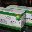 Lots of 2 Toner ML-2010D3 for Samsung Printer ML-1610 2010 2510 2570 2571N