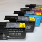 New 5 x Ink Cartridge LC75 LC71 for Brother MFC-J6510DW J6710DW J6910DW J825DW