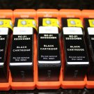 New 5 x Black Ink Cartridge Series 21-22-23-24 for Dell P-513 713 V-313 515 715