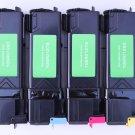 New High Yield 4 x Toner Cartridge KCMY for Xerox Phaser 6130 Series Printer