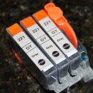 3 x Gray Ink Cartridge CLI-221GY for Canon Pixma Photo Printer MP980 MP990 MP640