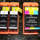 3 x Ink Cartridge Dell Series 21-22-23-24 T109n T110n P513W v515w High Yield