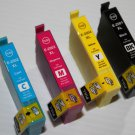 4 x ink 200XL for Expression Home XP-200 300 400 410 WorkForce WF-2530 2540