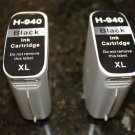 2x Black 940XL Ink Cartridge for HP Officejet Pro 8000 8500 8500A Series Printer