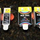 4x ink 30B 30C XL for Kodak ESP C310 Office 2150 2170 Hero 3.1 5.1