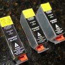 New 3 x Black Ink Cartridge PGI-7BK Canon Pixma IX7000 MX7600