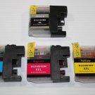 4 Ink Cartridge XL for Brother J4510DW J4610DW J470DW J4710DW J475DW J650DW
