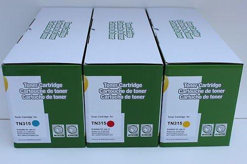 Cyan Magenta Yellow 3 Toner TN-315/310 Brother HL-4150 4570 MFC-9460 9560 9970