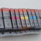 10 x Ink Cartridge PGI-225 CLI-226 for Canon Pixma MG-5120 5220 5320 6120 6220