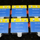 New 6 x Color XL ink Cartridge 10C for Kodak 5250 5300 5500 7250 6150