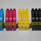 Lots of 14 ink 200XL for Expression Home XP-200 300 400 410 WorkForce WF-2530