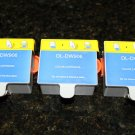 3 Ink Cartridge DW906 Color f Dell Series 20 All-in-One Printer P703w High Yield