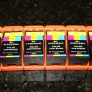 New 6 Color Ink Cartridge T110n for Dell Series 21,24 P513w V313w V515w P713w