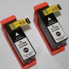 2 Pack High Yield Black Ink Cartridge 31-34 for Dell V525 V725w InkJet Printer