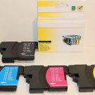 Lots of 5 LC61 Ink Cartridge Brother DCP-385C 535CN 585CW 6690