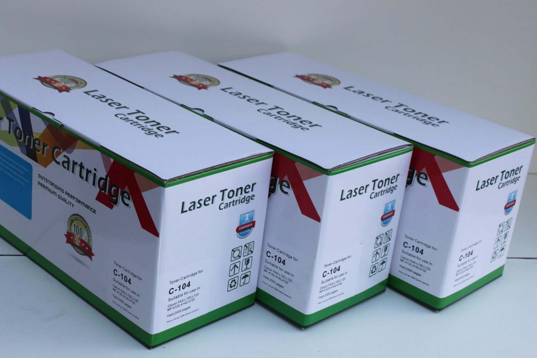 3 Toner 104 FX-9 FX-10 For Canon MF-4150 4270 4350 4370 4600 4650 4680 4690 L100