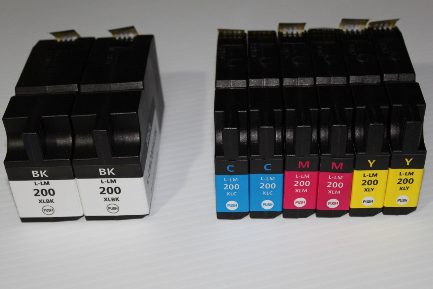 High Yield 2B+6C 200XL ink Cartridge for Lexmark Printer 4000 5000 5500 5500T