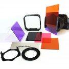 52MM 4 Full Color Square Filter Kit for Cokin P Nikon D3200 D3100 D3000 D5200