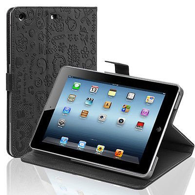 Cute PU Leather Folio Smart Case Cover Stand For Apple iPad Mini 7.9 Tablet New