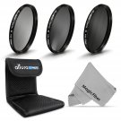 67MM Altura Photo ND Filter Set ND2 ND4 ND8 for Canon 18-135mm 70-200mm Lens