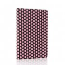 Polka Dot-Pink New Google Nexus 7 II 2nd Android TabletPU Leather Case Cover Stand Multi-Color